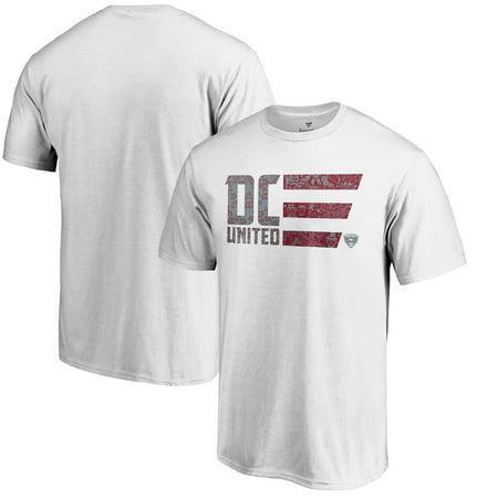 - D.C. United Fanatics Branded Americana Patriotic Club T-Shirt - White