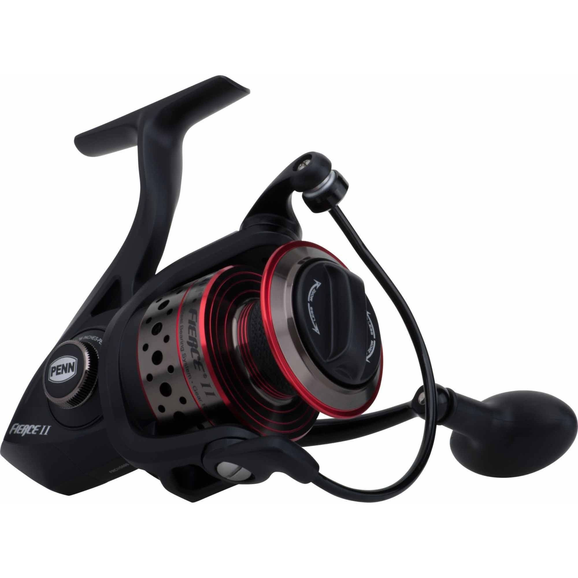 Penn Fierce II 5000 Spinning Reel, Clam Packaged