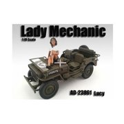 American Diorama 23861 Lady Mechanic Lucy Figure for 1-18 Scale Models