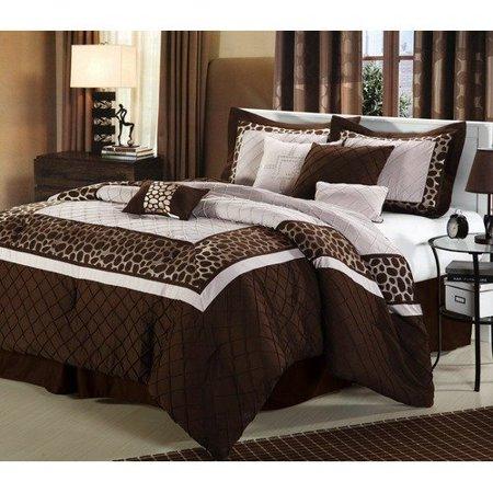 Luxury Home Animal Print Comforter Set Walmart Com