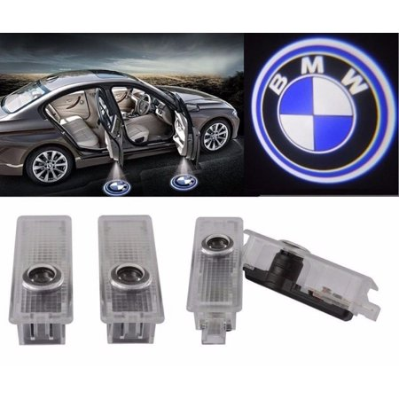 Led Ghost (4 For BMW Logo LED Step Door Courtesy Welcome Light Ghost Shadow Laser)