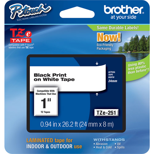 Brother TZ Series Lettering Tape