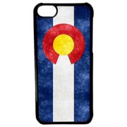 Ganma For iPod Touch 6 Case, Colorado State Flag For iPod Touch 6th Generation Black Case