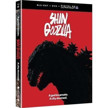 Shin Godzilla Movie  Blu Ray   Dvd   Digital Hd