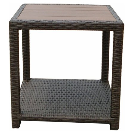 JJ Designs South Beach Plywood Top End Table