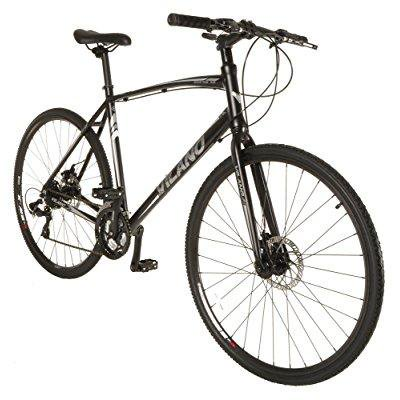 vilano diverse 3.0 performance hybrid road bike 24 speed shimano disc