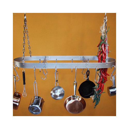 Bundle-52 HSM Low Profile Oval Hanging Pot Rack (3 Pieces)