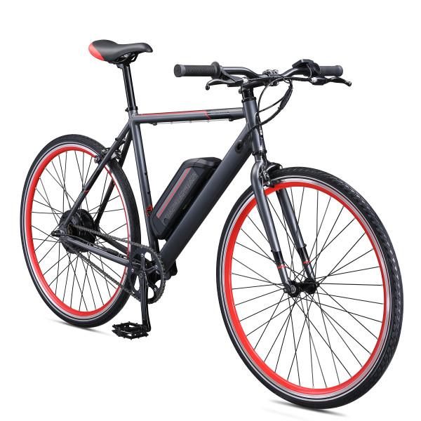Schwinn Monroe 250 watt hub-drive, single speed, Electric Bicycle - 700c wheel size, Mens/Womens Small Frame