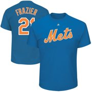 Todd Frazier New York Mets Majestic Official Name & Number T-Shirt - Royal