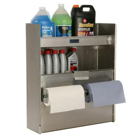 Double Cabinet 3-Shelf Gallon Organizer