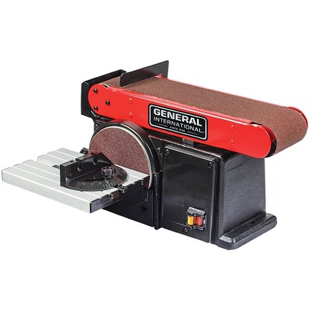 General International Belt And Disc Sander, (Best Benchtop Belt Sander)