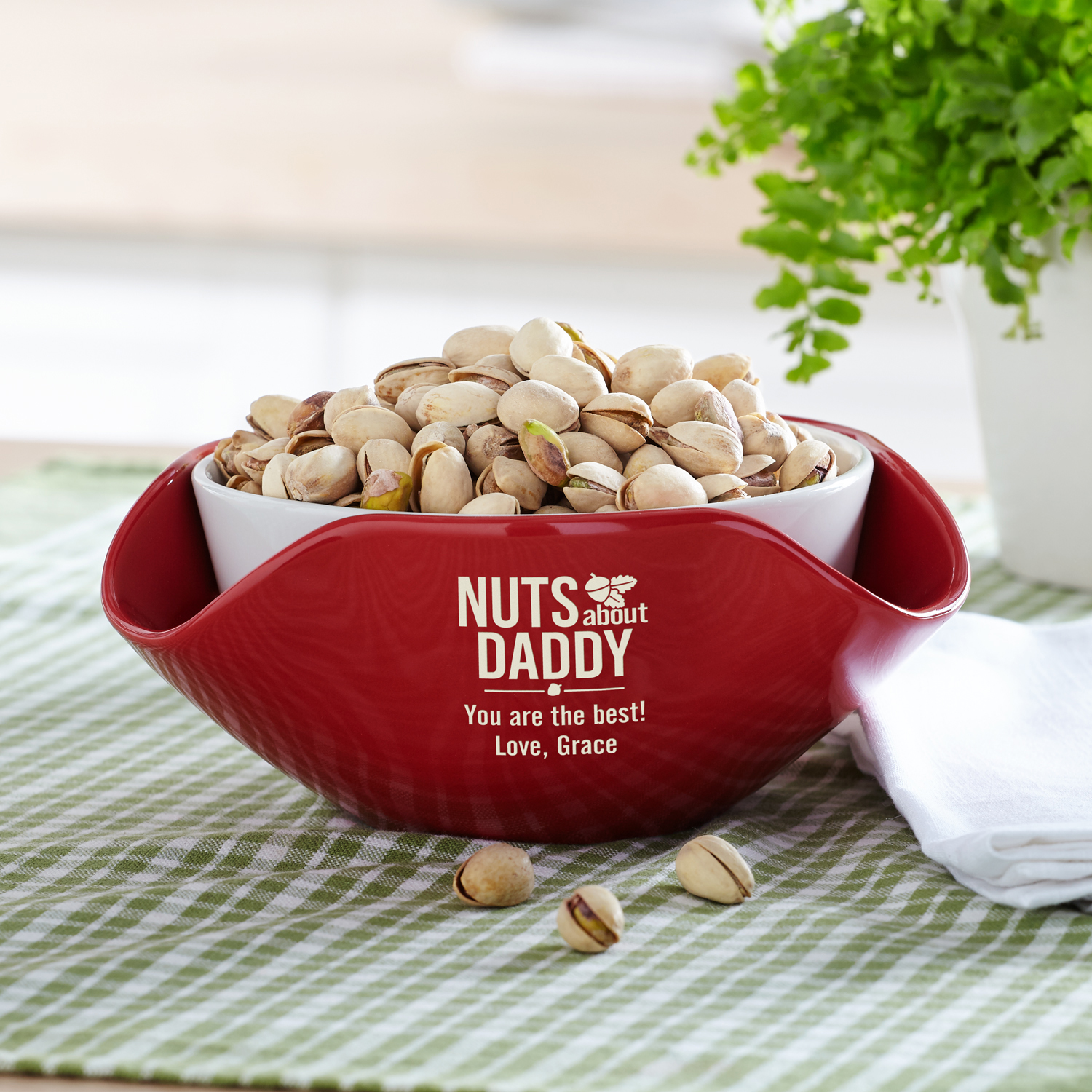 Personalized Nuts About You Snack Bowl