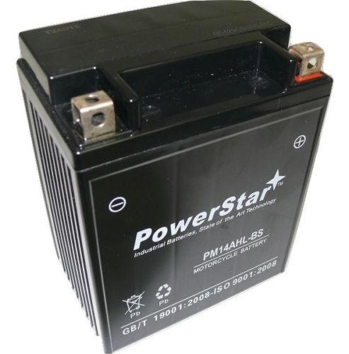 YTX14AHL-BS SMF Battery 12V For Suzuki 650 LS650 Savage, S40 1986-2012