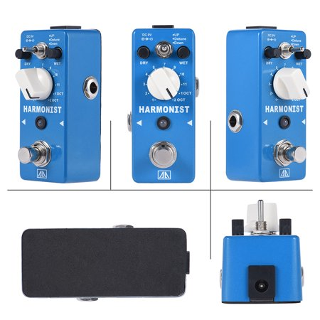 AROMA AHAR-5 HARMONIST Pitch Shifter Guitar Effect Pedal 3 Modes Pitch Shifting Harmony Effects Aluminum Alloy Body True Bypass (Pitch Shifter Guitar Pedal)