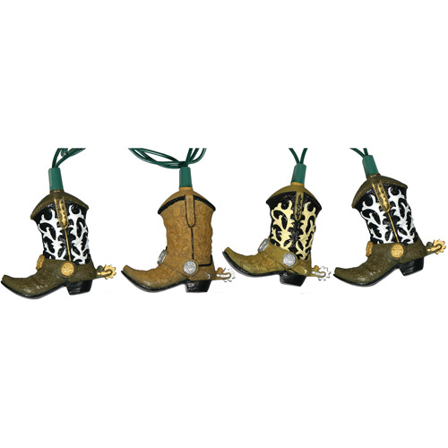 Rivers Edge Products Cowboy Boot 10-Light Party Light Set by Rivers Edge Products