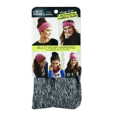 Scunci 1-pk Multiwear Headwrap