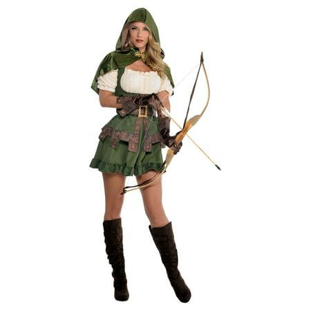 Robin Hoodie Archer Woman Costume