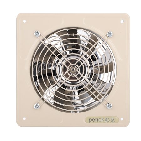 Yosoo Kitchen Bathroom Exhaust Fan,40W 220V Wall Mounted Exhaust Fan Low  Noise Home Bathroom Kitchen Garage Air Vent Ventilation Bathroom Window ...