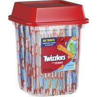 Twizzlers, Rainbow Twists Licorice Chewy Candy, 27.5 Oz.