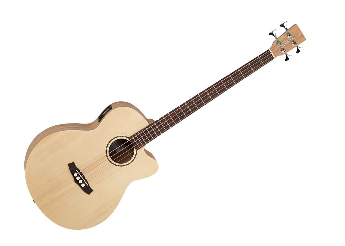Tanglewood Roadster Acoustic Bass Guitar Natural Satin Rosewood TWRAB by Tanglewood