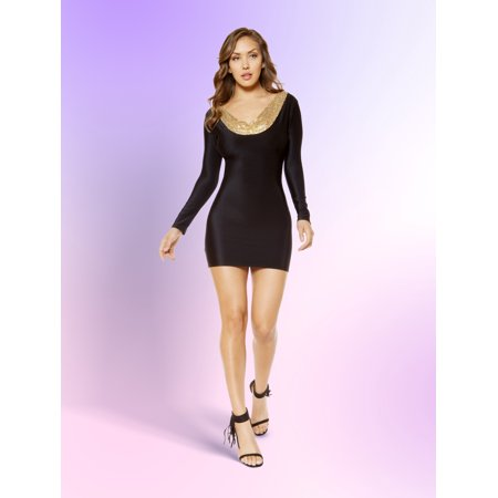 Bodycon Dress with Open Back Design ()