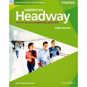 American Headway Third Edition: Level Starter Student Book : With Oxford Online Skills Practice Pack