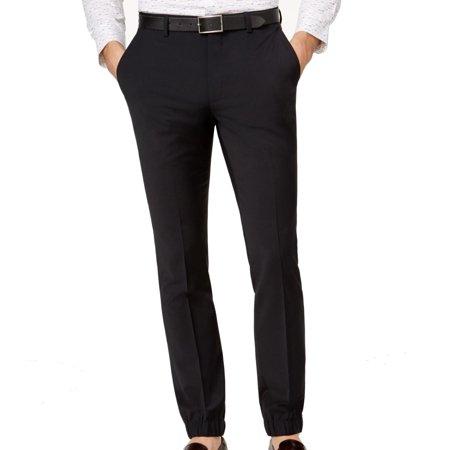 566ec9437c Bar III Pants - Mens 32X30 Skinny-Fit Dress Flat Front Stretch Pants 32 -  Walmart.com