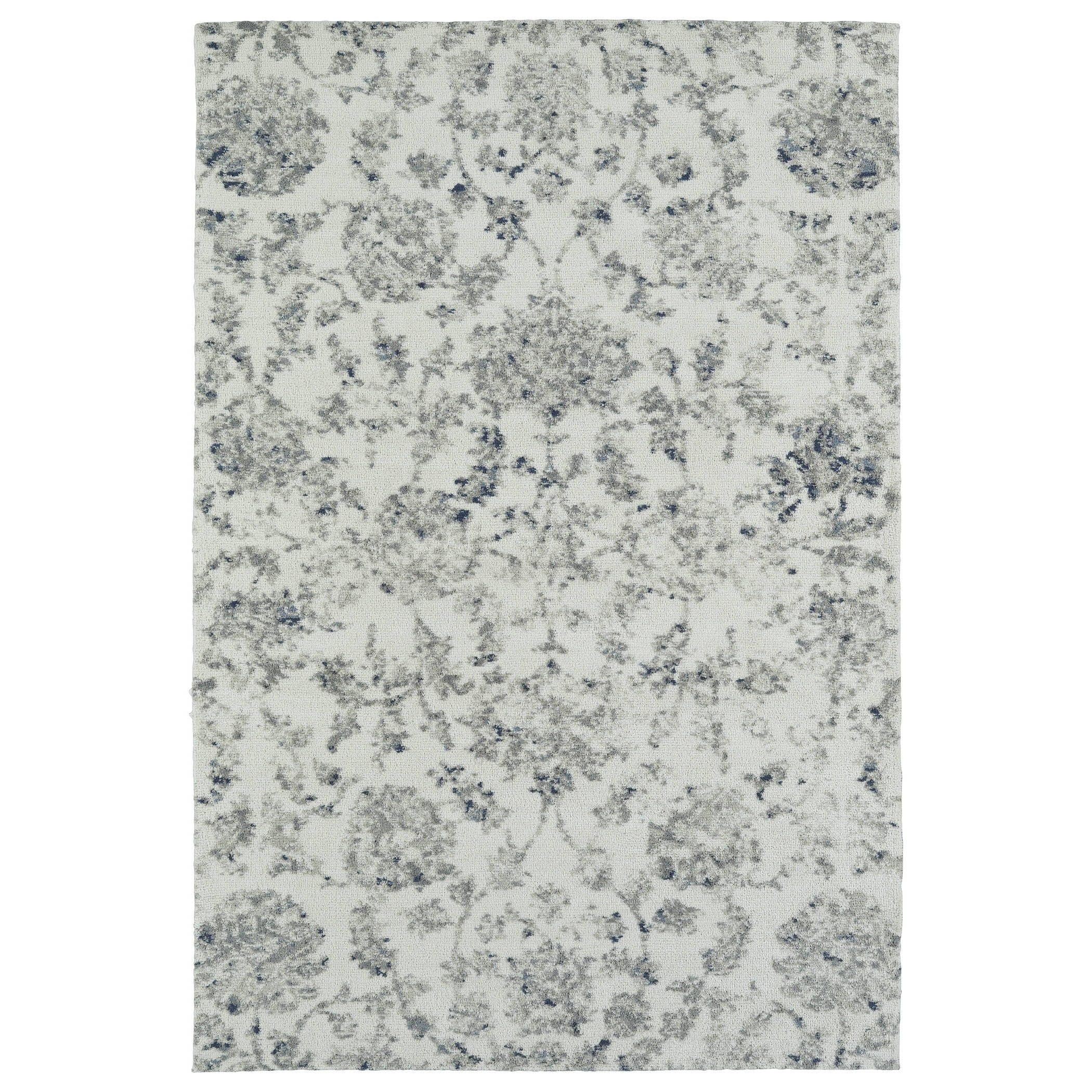 Kaleen Rugs Cozy Toes Collection CTC03-01 Ivory Machine Tufted Rug, 2' x 3'