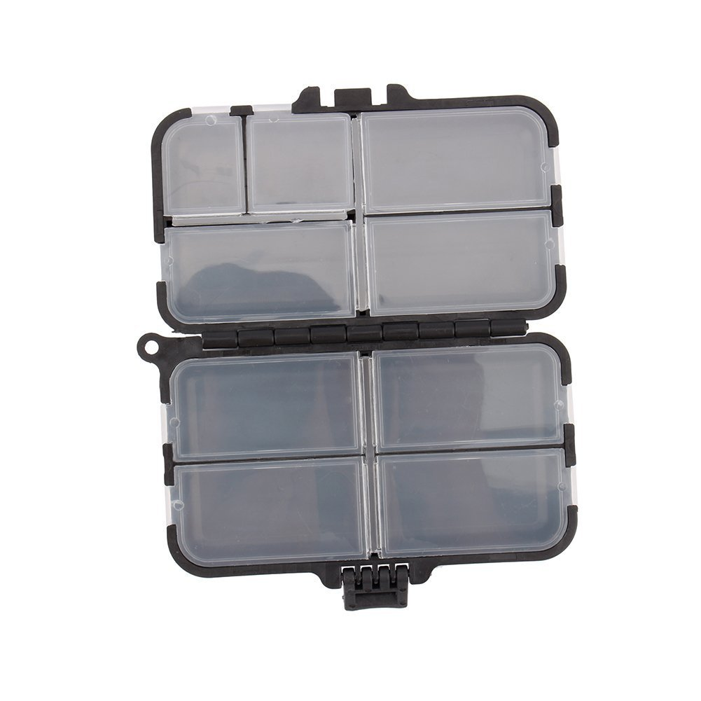Yosoo Strong Plastic Portable Light Weight Fishing Storage Box Fishing Lure Bait Tackle Waterproof Storage Box Case by