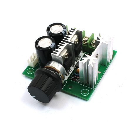 unique bargains 12 40v 10a pwm adjustable knob control