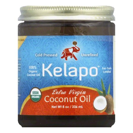 Kelapo Organic Extra Virgin Coconut Oil, 8 FO (Pack of (Best Coconut Oil Nz)