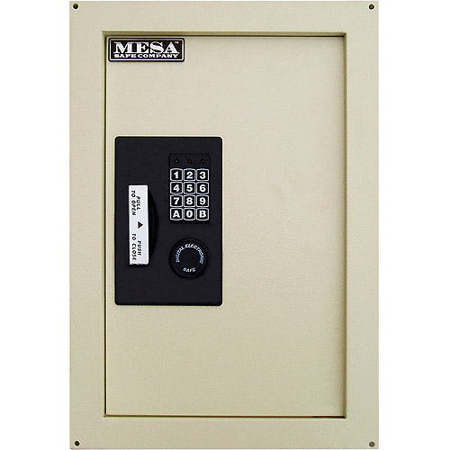 Mesa Safe 0.8 cu. ft. Adjustable Wall Safe with Electoronic Lock, MAWS2113E by Mesa Safe Co.