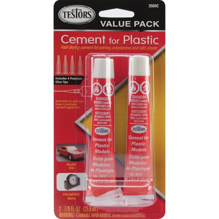 Cement For Plastic Value Pack 2/Pkg-.875oz