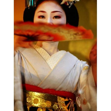 Maiko Dancer, Kyoto, Japan Print Wall Art By Frank Carter Maiko Girl Kyoto Japan