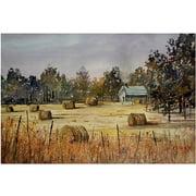 "Trademark Art ""Autumn Gold"" Canvas Art by Ryan Radke"