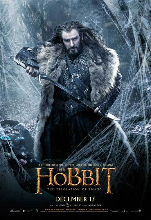 The Hobbit The Desolation Of Smaug 2013 27x40 Movie Poster Walmart Com Walmart Com
