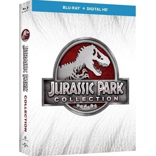 JURASSIC PARK 1-4 COLLECTION (BLU RAY 3D/BLU RAY W/DIGITAL HD) (3-D)