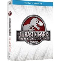 Jurassic Park 1-4 Collection (3D Blu-ray + Blu-ray + Digital HD)