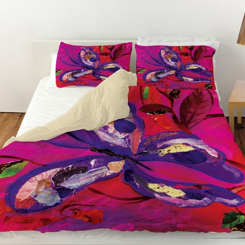 Manual Woodworkers & Weavers Butterfly Duvet Cover