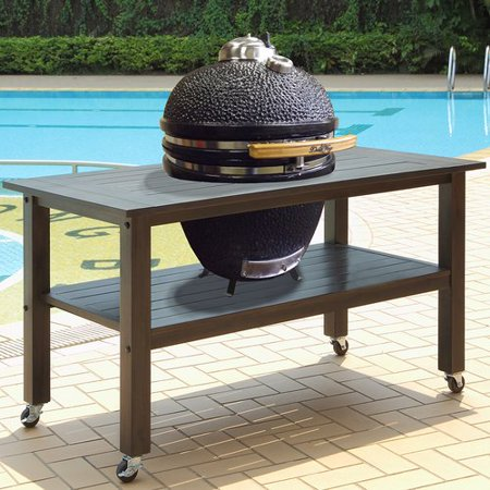 Duluth Forge 19'' Kamado Charcoal Grill with Table