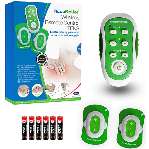 AccuRelief Wireless TENS Electrotherapy Pain Relief System