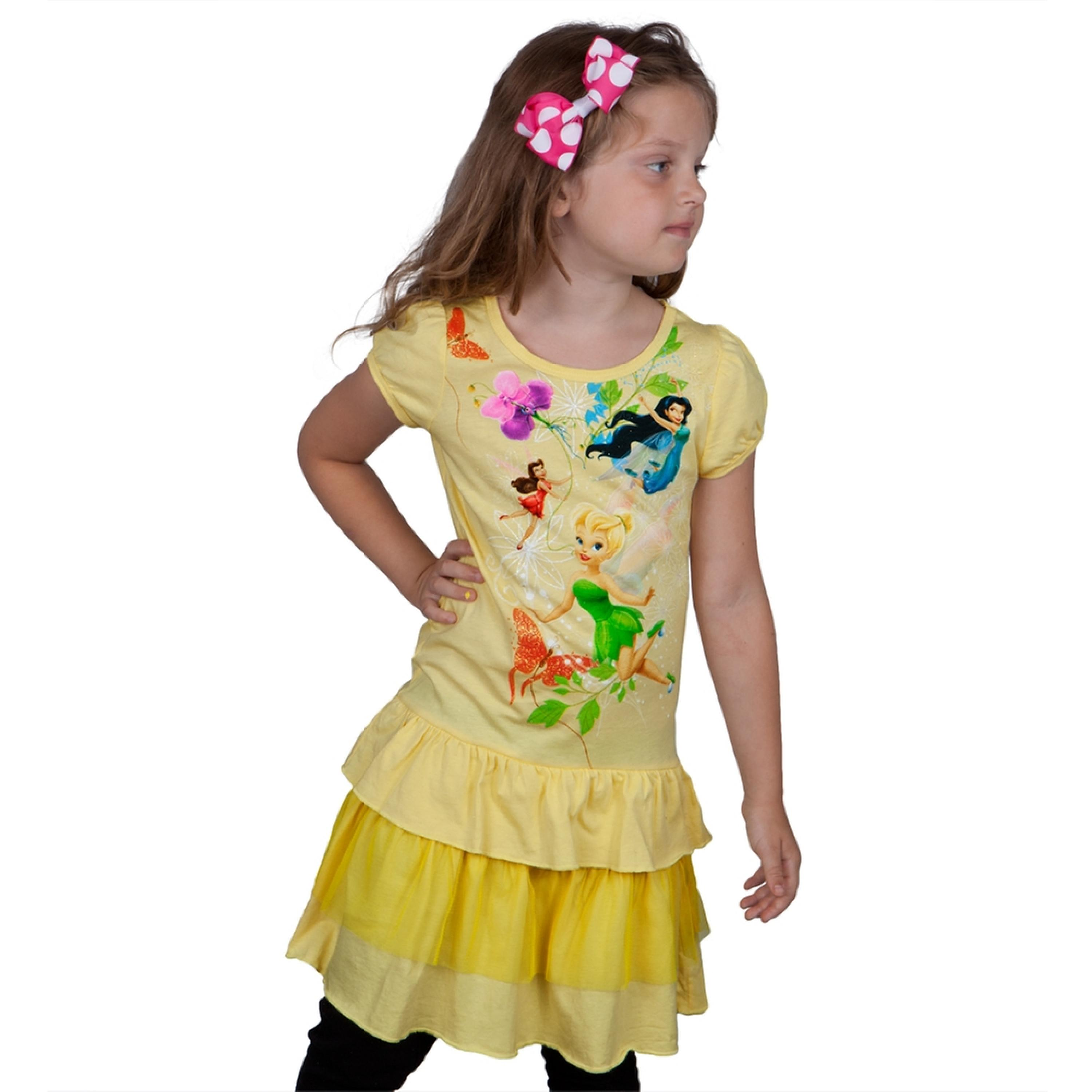 Disney Fairies - Frolic In Flight Girls Juvy Dress
