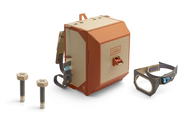 Nintendo Labo Robot Kit Switch Hacradfva Electrical Power Sources For Mobile Robots Smashing Robotics