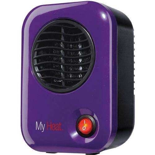 Lasko My Heat Personal Electric Heater, 100-200 W, Black
