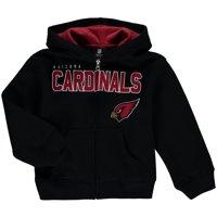 Arizona Cardinals Preschool Fan Gear Stated Full-Zip Hoodie - Black