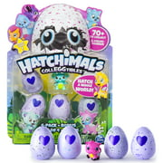 Hatchimals, CollEGGtibles, 4 Pack + Bonus (Styles & Colors May Vary) by Spin Master