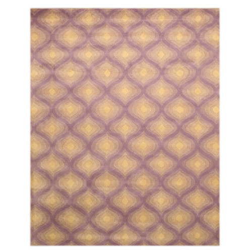 Eastern Rugs Purple Paris Area Rug