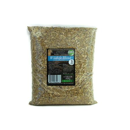 (22028) Eretz Oregon Grown Grass Seed - Wildlife Food Plot Forage Blend (3lbs) thumbnail