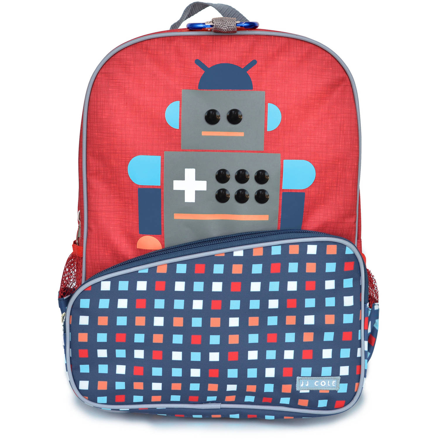 Little JJ Cole Toddler Backpack, Robot