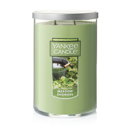 Yankee Candle Meadow Showers - Large 2-Wick Tumbler Candle - Yankee Candle Halloween Party 2017